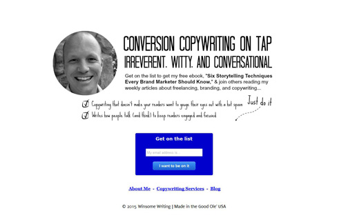 Landing page created by Brian Lenney with the Ultimate Landing Page Advanced plugin.